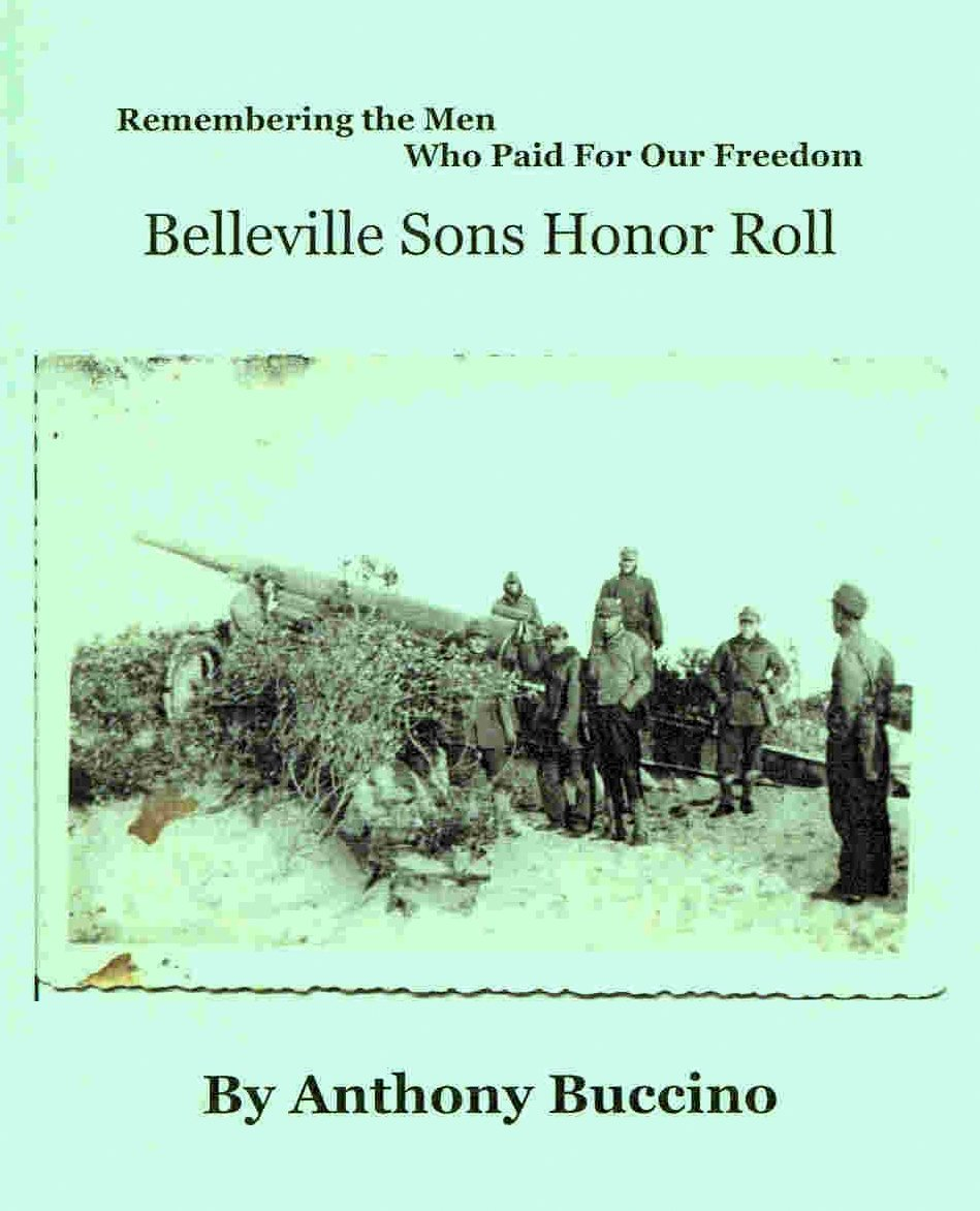 First Edition Cover - Belleville Sons Honor Roll - by Anthony Buccino