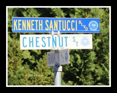 Police Officer Kenneth Santucci, killed in line of duty, honored by Belleville, N.J.